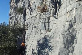 Escalade Près De Montpellier En Initiation Dans L'Hérault, Tout Près De SCévennes