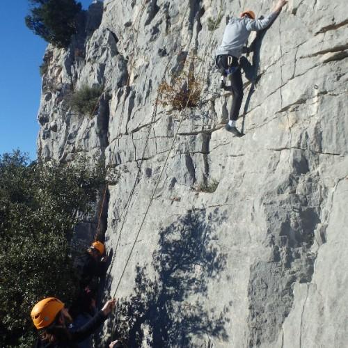 Escalade Initiation Dans Le Gard Et L'Hérault Entre Les Cévennes Et Montpellier
