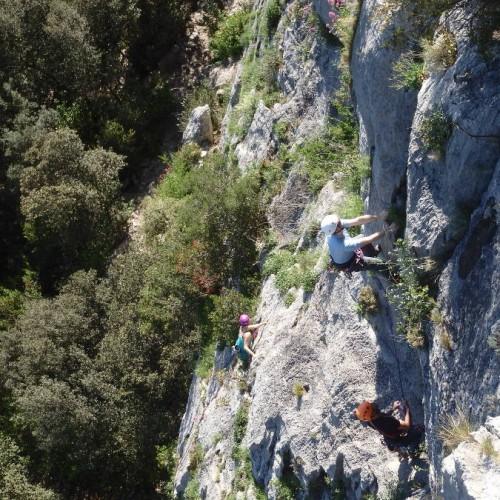 Moniteur D'escalade Dans L'Hérault Près De Montpellier