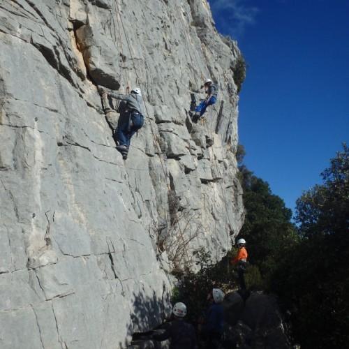 Escalade Dans Le Gard Et L'Hérault à Valflaunès