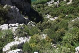 Via-ferrata Près De Ganges Et Des Cévennes Avecles Moniteur De Montpellier