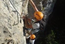 Via-ferrata Près De Montpellier Et Ganges En Cévennes Dans L'Hérault
