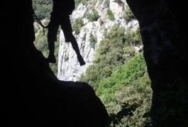 Via-ferrata Au Thaurac Dans L'Hérault Près De Montpellier Et Des Cévennes