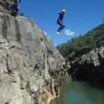 Randonnée Aquatique Au Pont Du Diable Dans L'Hérault à Saint-Guilhem Le Désert Près De Montpellier