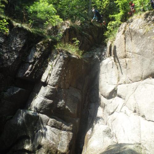 Cévennes Et Canyoning Dans Le Tapoul Au Mont Aigoual. Belle Découverte De L'Occitanie