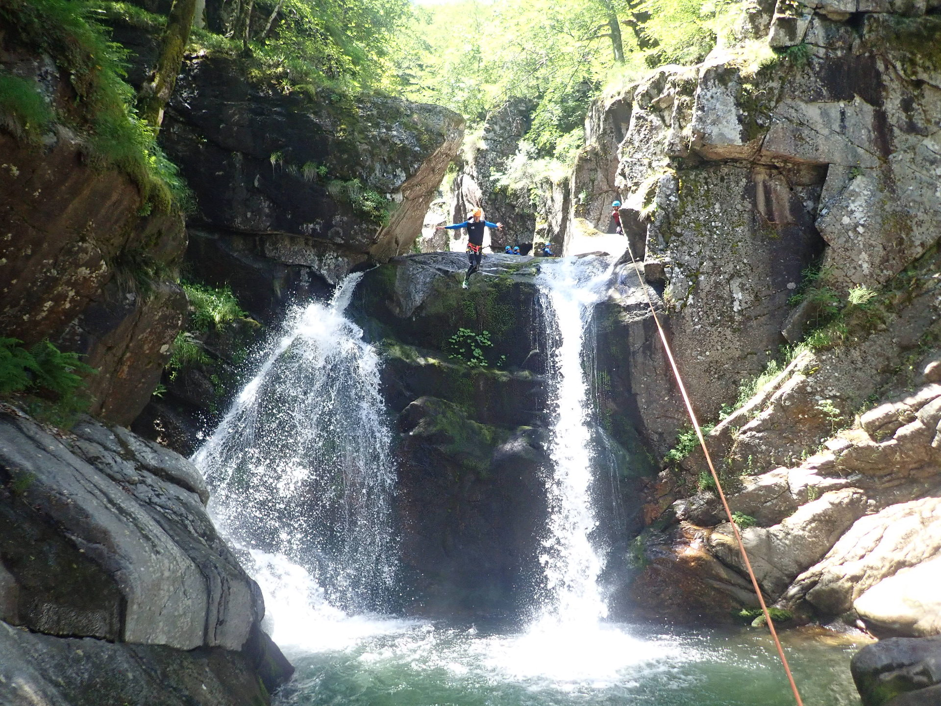 canyoning-tapoul-lozere-montpellier-cevennes